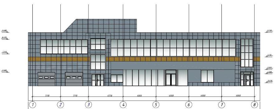 Проект изменения фасадов