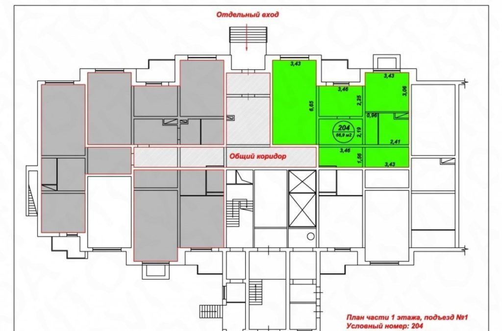 Для раздела зданий и помещений всегда нужно разработать и согласовать проект