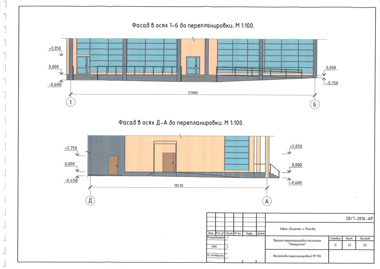 В данном случае представлена графическая схема из проекта реконструкции фасада здания. Его тоже нужно согласовать.