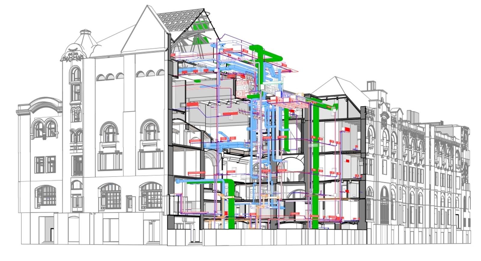 При реконструкции пристройка должна быть присоединена к основному зданию. Для этого возводятся общие стены, делаются проходы.