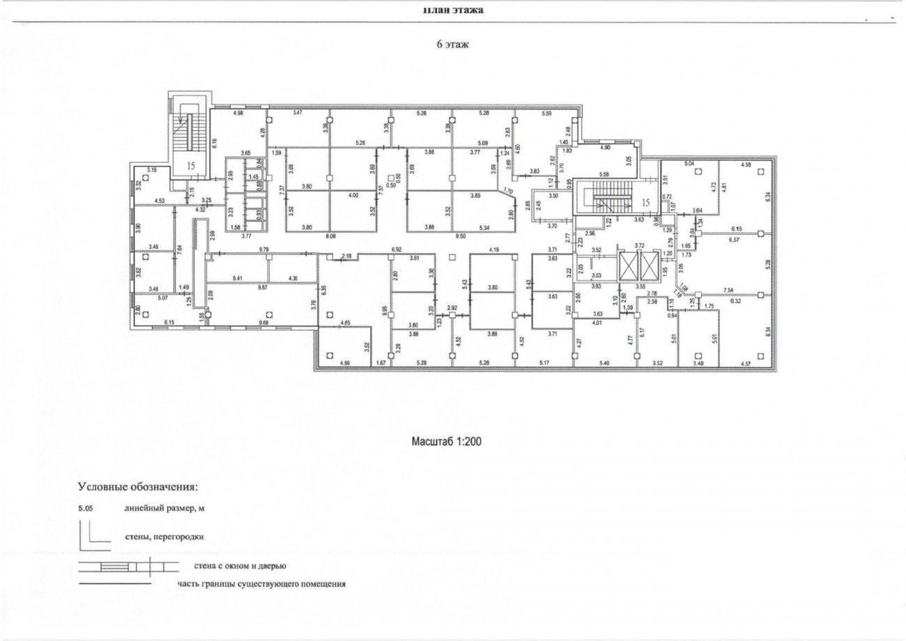 На поэтажном плане здания указываются все помещения, в том числе прошедшие самостоятельный кадастровый учет.