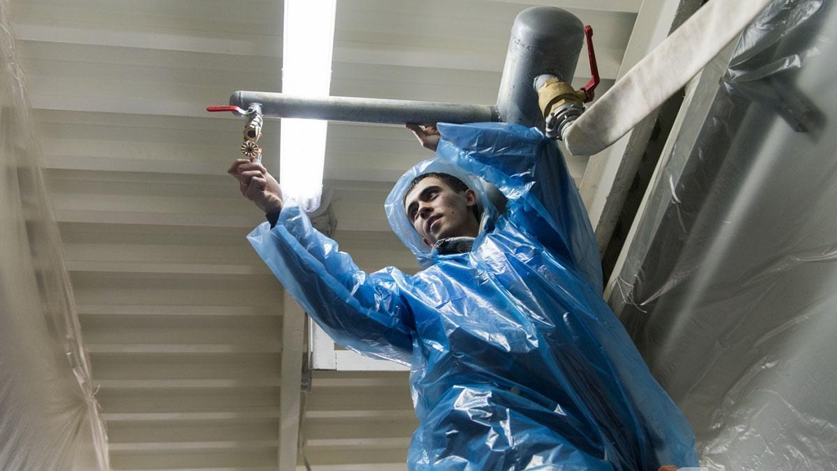 Проект системы пожаротушения применяется и при ее плановом обслуживании, испытаниях и проверках.