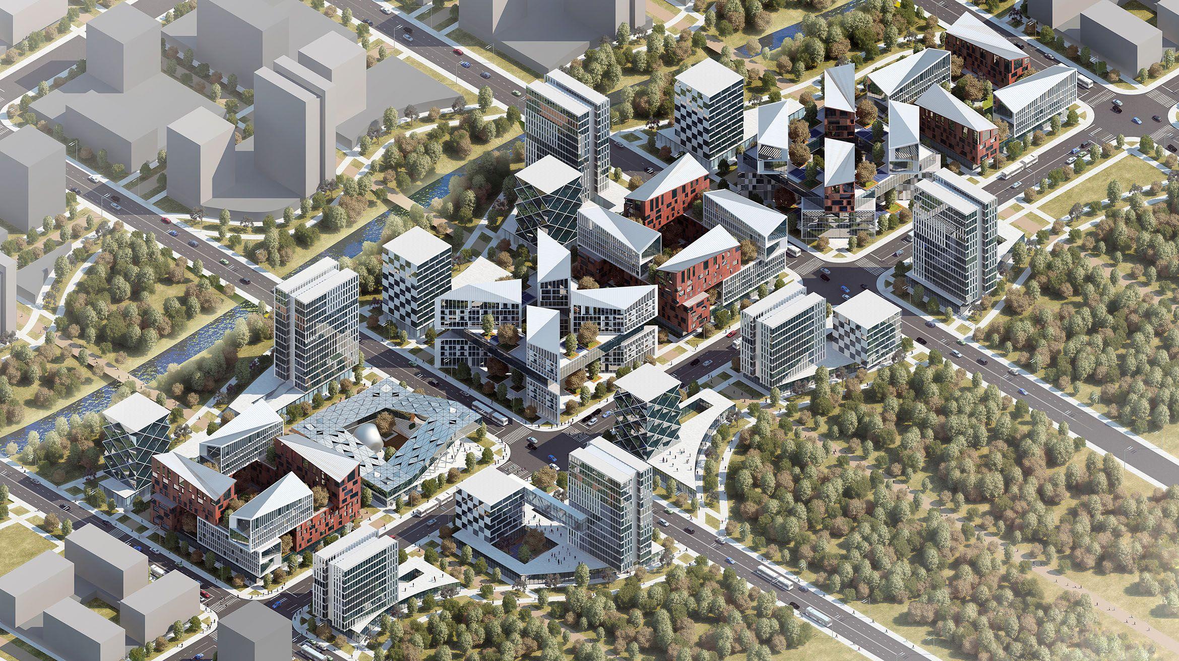 На территории каждого города действуют нормативные акты, описывающие концепцию застройки, допустимые параметры строительства.