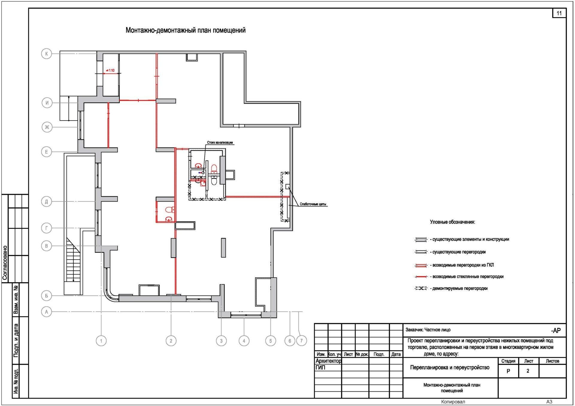Перепланировка выполняется на основании проекта. технический план нужно получать уже после завершения работ.